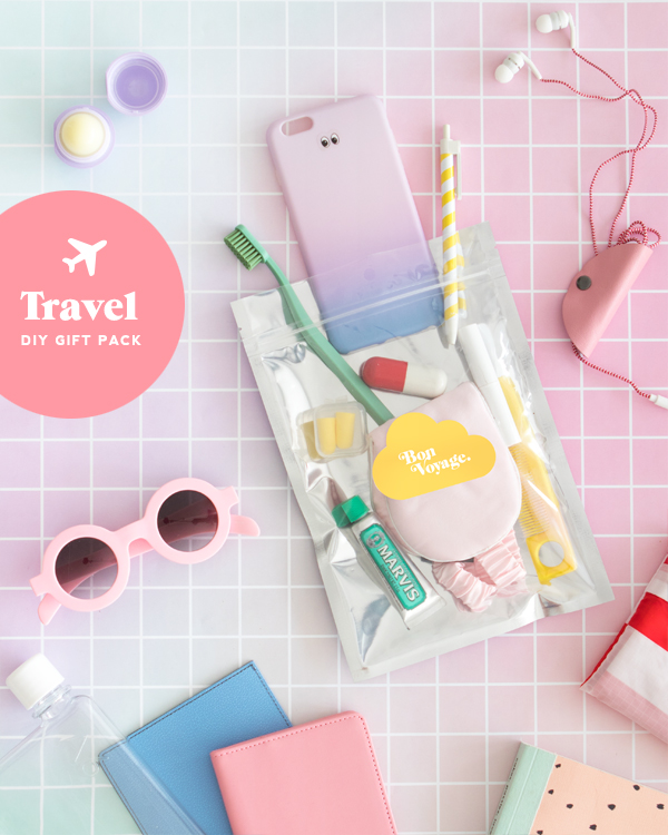 DIY Travel Gift Pack | Oh Happy Day!