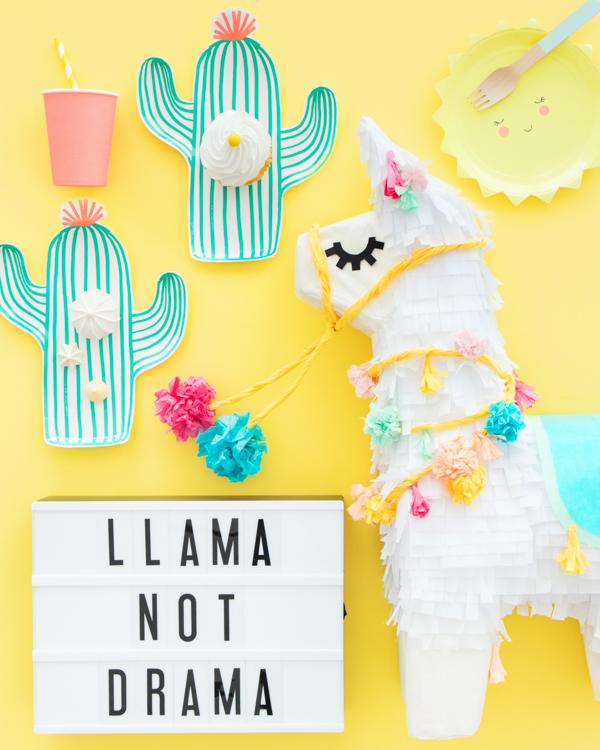Llama Pinata Makeoever | Oh Happy Day!