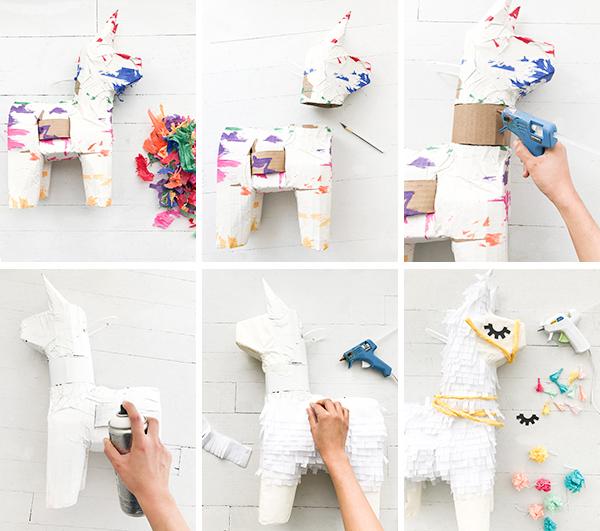 Llama Pinata Makeover | Oh Happy Day!