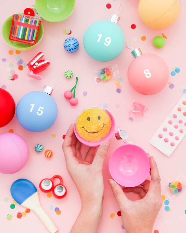 Christmas Ornament Advent Calendar | Oh Happy Day!