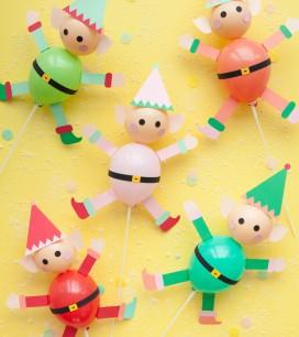 Elf Balloon Sticks | Oh Happy Day!