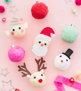 Christmas Surprise Balls | Oh Happy Day!