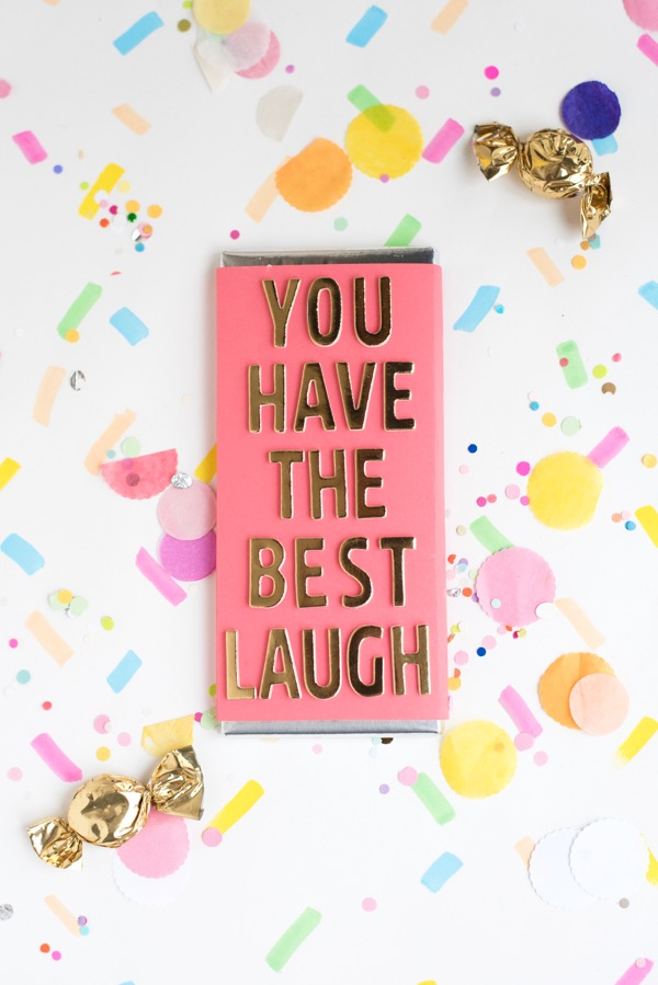 Compliment Candy Bars DIY   Oh Happy Day!