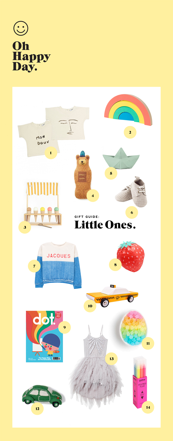 Holiday Gift Guide: Little Ones | Oh Happy Day!
