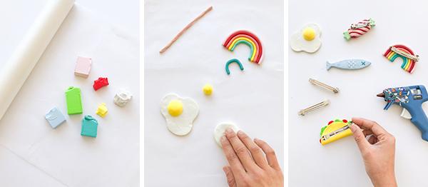 DIY Clay Barrettes | Oh Happy Day!