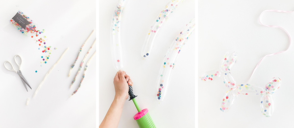 Confetti Balloon Dogs | Oh Happy Day!