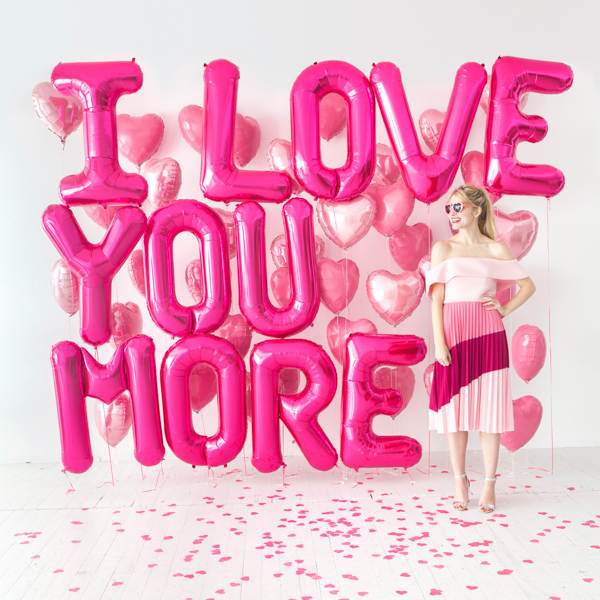 Giant Balloon Love Letter   Oh Happy Day!