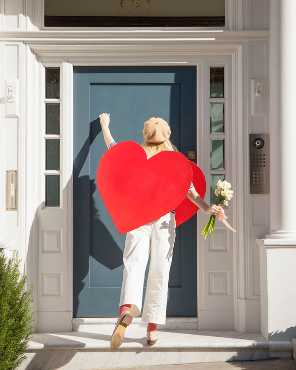 Heart Sandwich Board | Oh Happy Day!