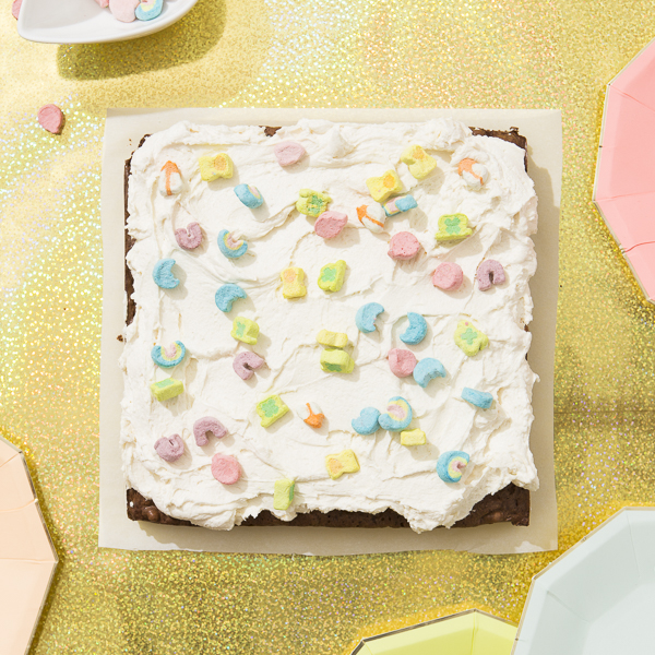 Piece of Cake: Malted Lucky Charm Brownies | Oh Happy Day!