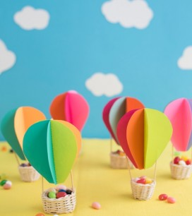 Hot Air Balloon Favors DIY | Oh Happy Day!