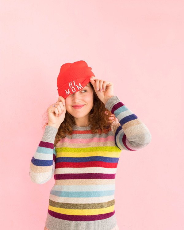 Beanie Makeovers 3 Ways | Oh Happy Day!
