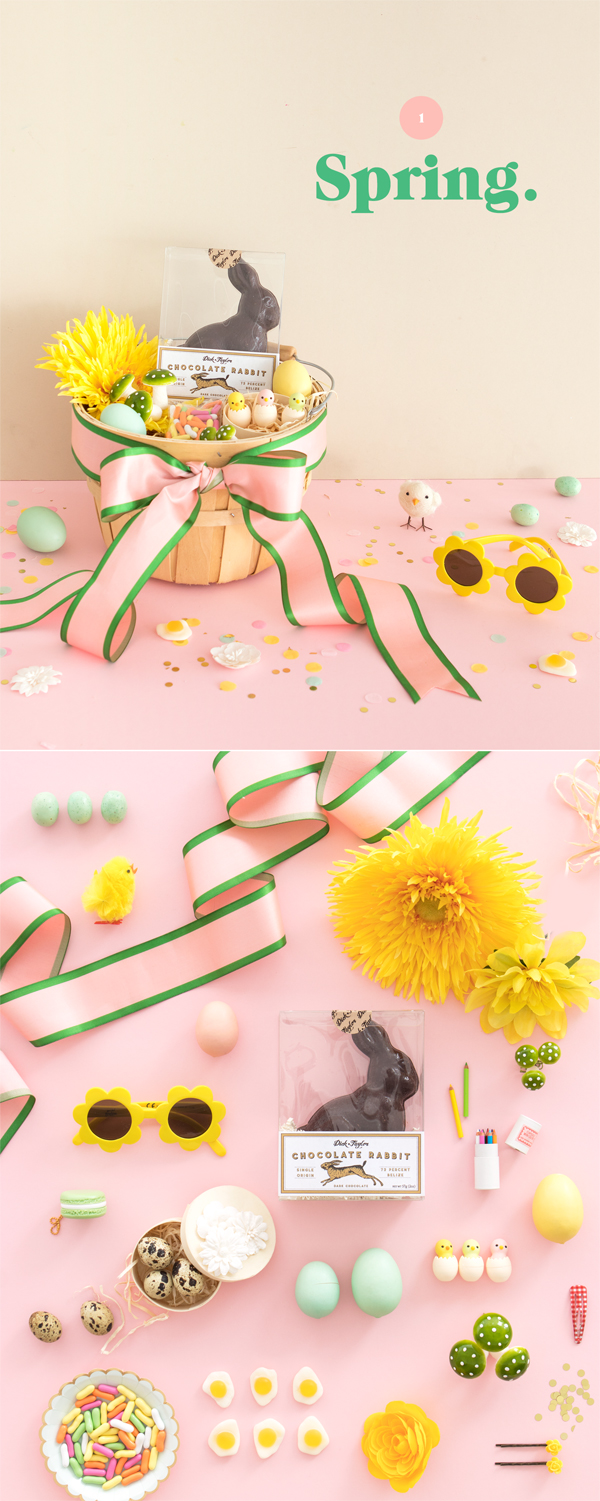Styling Easter Baskets - 3 Ways | Oh Happy Day!