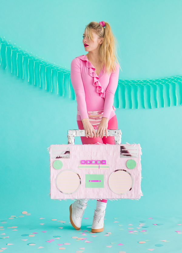DIY 80's Style Boombox Pinata | Oh Happy Day!