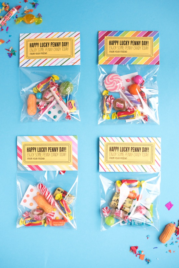Penny Candy Treat Bags DIY | Oh Happy Day!