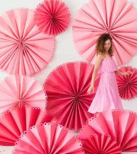 Giant Fancy Party Fan Photobooth | Oh Happy Day!