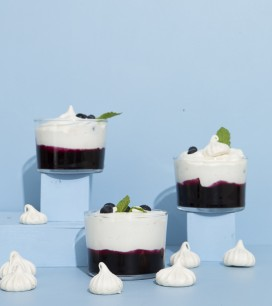 Piece of Cake: Blueberry & Earl Grey Eton Mess | Oh Happy Day!