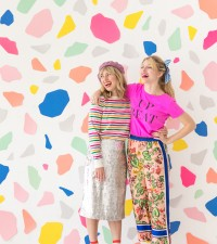Terrazzo Photobooth Backdrop | Oh Happy Day!