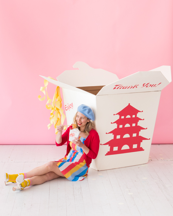 Giant Takeout Box Photobooth | Oh Happy Day!