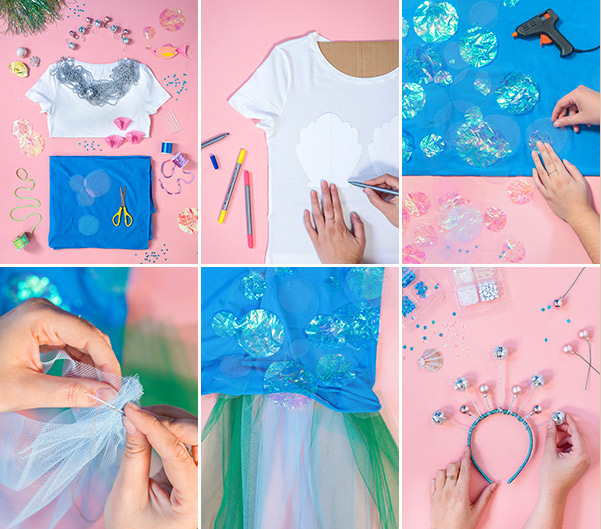 Mermaid Costume DIY | Oh Happy Day!