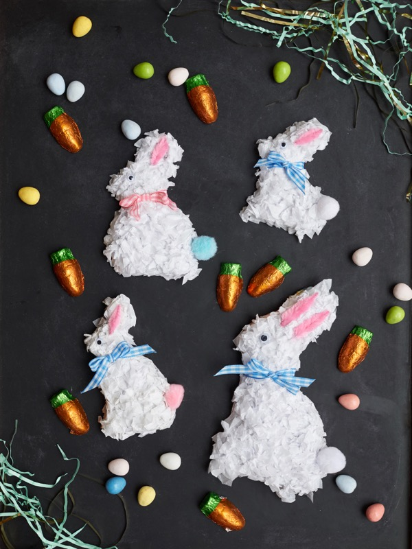 Decorated Chocolate Bunny DIY | Oh Happy Day
