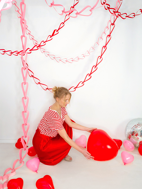 Valentine Heart Garland | Oh Happy Day
