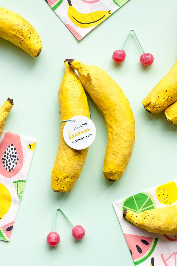 Mini Banana Piñatas | Oh Happy Day