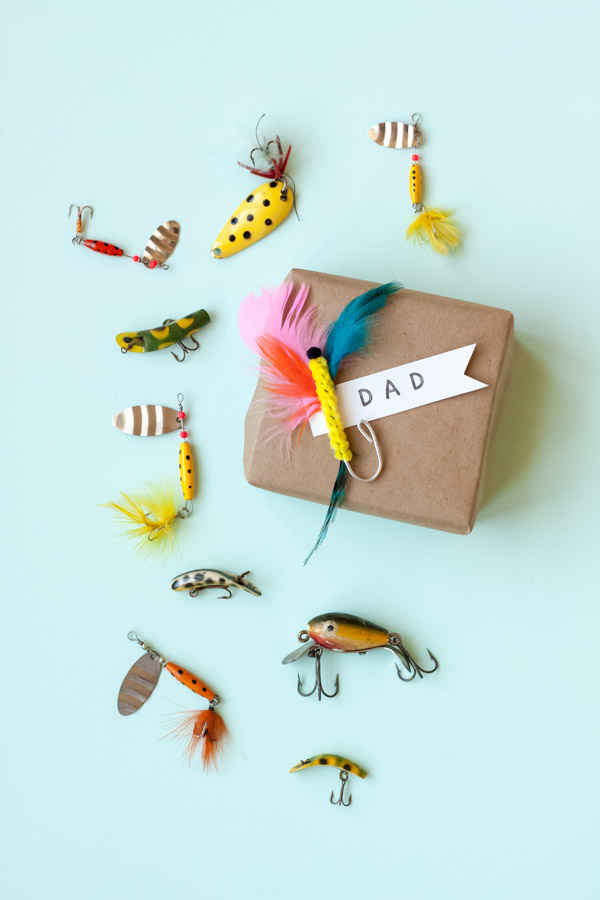 Fly Fishing Gift Topper | Oh Happy Day