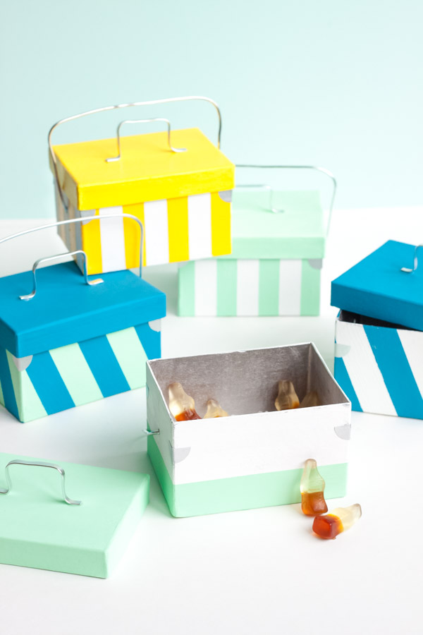 Mini Cooler Favors   Oh Happy Day