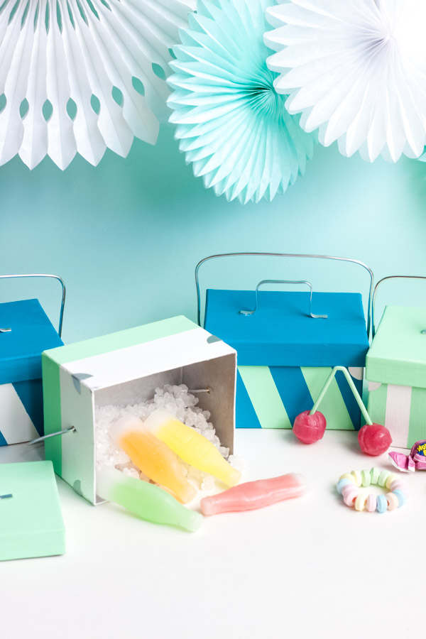 Mini Cooler Favors | Oh Happy Day