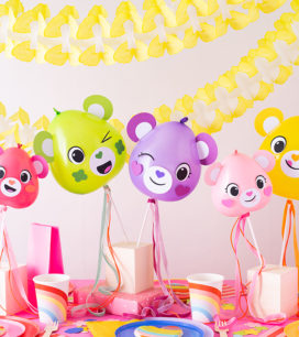Modern Care Bears Party | Oh Happy Day