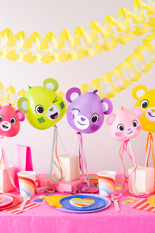 Modern Care Bears Party